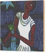 Tarot Of The Younger Self The Star Wood Print