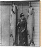 Tarpon Fishing 19th Century  Wood Print
