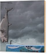 Tarpon Springs Thunderstorm Wood Print