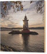 Tarrytown Lighthouse Wood Print