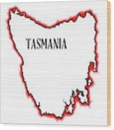 Tasmania Wood Print