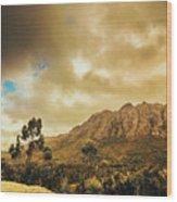Tasmania Mountain Marvels Wood Print