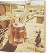 Tasmanian Ciders Wood Print