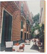 Taste Of Italy In Cuba Wood Print