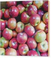 Tasty Fresh Apples 1 Wood Print