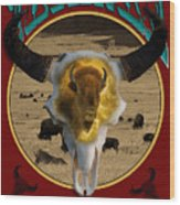 Tatanka American Bison Wood Print