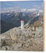 Tatra Mountains 1 Wood Print