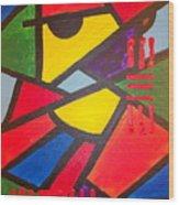 Tatu Wood Print