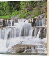 Taughannock Falls Sp 0462 Wood Print