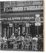 Taverne St. Germain, Paris Wood Print