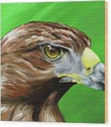 Tawny Eagle Wood Print
