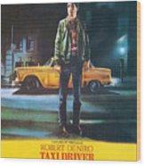 Taxi Driver - Robert De Niro Wood Print