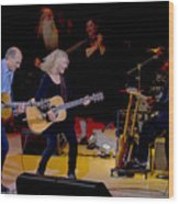 Taylor King And Group In Concert Wood Print