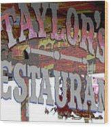 Taylors Wood Print