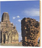 Tayokpye Temple Wood Print