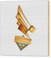 Tcm Calligraphy 42 1 Al Malik Wood Print