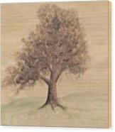 Tea And Coffee Tree Wide Wood Print