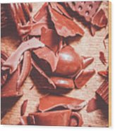 Tea Break  Wood Print