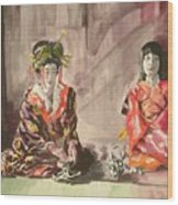 Tea Ceremony Wood Print