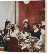 Boston Tea Party Wood Print