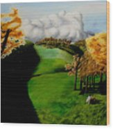 Tea Party  Wood Print