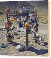 Teakettle Junction Wood Print