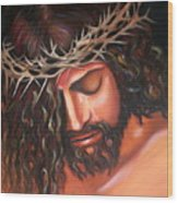 Tears From The Crown Of Thorns Wood Print