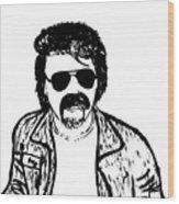 Ted - The Strange Man Wood Print