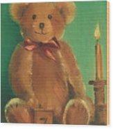 Ted E. Bear Wood Print
