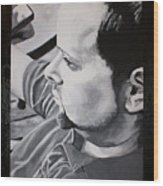 Ted Wood Print