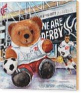 Teddy Bear Ince Wood Print