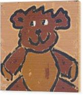 Teddy Wood Print