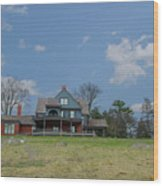 Teddy Roosevelts House - Sagamore Hill Wood Print
