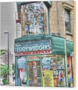 Teddywedgers Wood Print