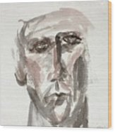 Teen Boy's Portrait Wood Print