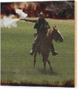 Tejano Cavalry Wood Print