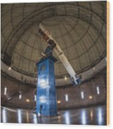 Telescope At Yerkes Wood Print