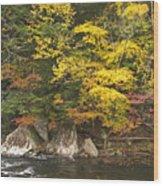 Tellico River  Wood Print