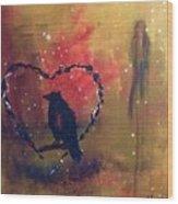 Telltale Heart Wood Print