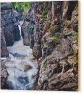 Temperance River Gorge Wood Print