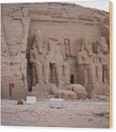 Temple Of Rameses II Wood Print