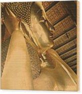 Temple Of Reclining Buddha  Wood Print