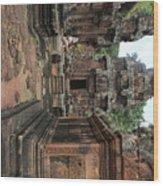 Temples Siem Reap Cambodia Worship  Wood Print