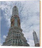 Temples, Thailand Wood Print