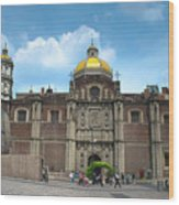 Templo Expiatorio A Cristo Rey - Mexico City Wood Print