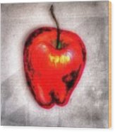 Temptation Apple Wood Print