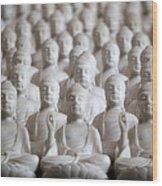 Ten Thousand Buddhas Wood Print