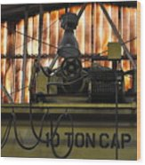 Ten Ton Cap Wood Print