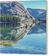 Tenaya Calm Wood Print