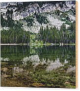 Tenaya Lake Wood Print